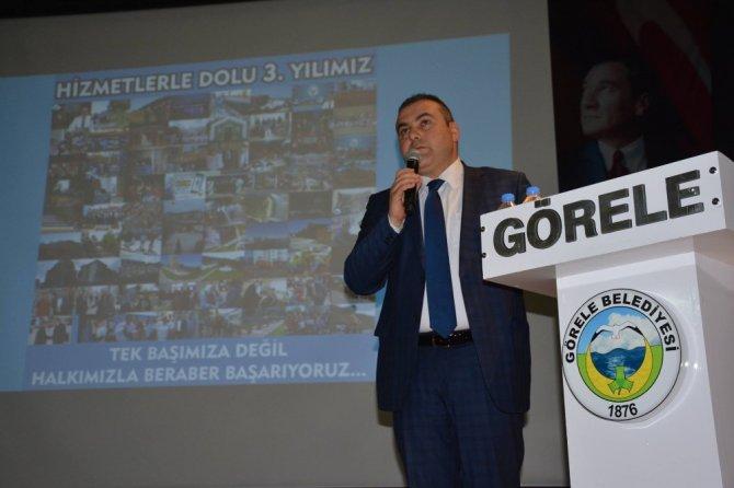 Başkan Erener, 3 Yılını Değerlendirdi