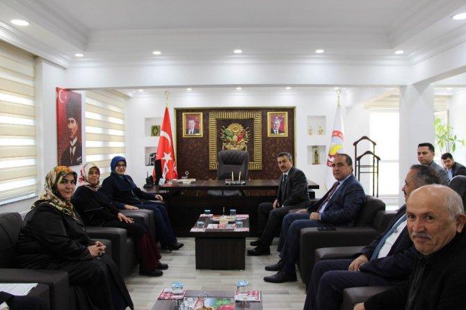 Meram Belediye Başkanı Toru'dan, Başkan Tutal'a Ziyaret