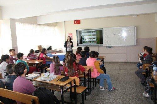 """Öğrencilere """"Biyolojik Çeşitlilik"""" Eğitimi"""