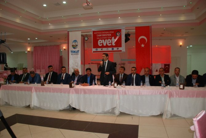 Tokat'ta Referandum Çalışmaları