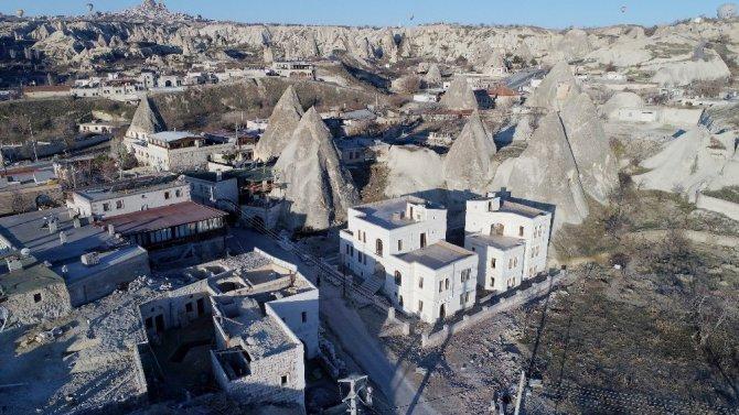 Kapadokya'da Peribacaları Yok Ediliyor