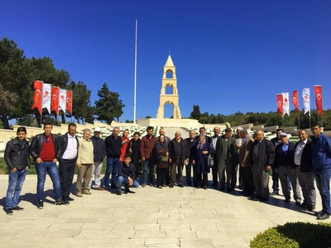 Alaşehirli Gaziler Çanakkale'de