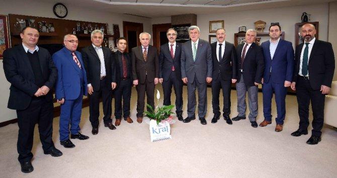 Başkan Karaosmanoğlu, Gümüşhane Ve Yozgatlılar İle Bir Araya Geldi