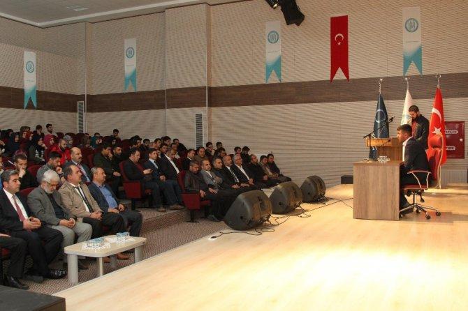"""Bitlis'te """"Müslüman'ın Hayata Bakışı"""" Konferansı"""