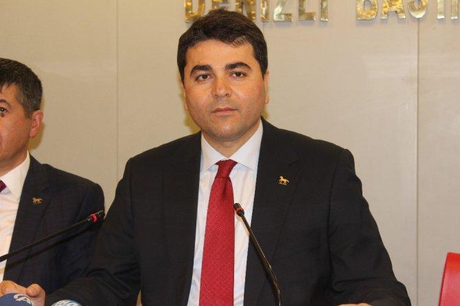 Dp Genel Başkanı Uysal Denizli'de