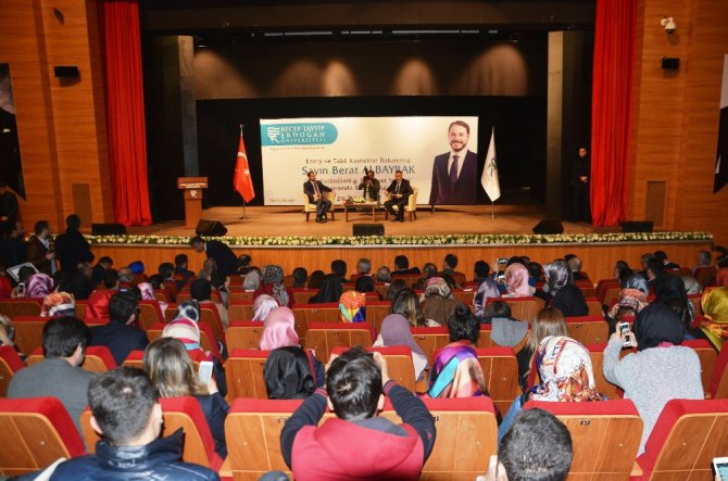 Enerji Ve Tabii Kaynaklar Bakanı Albayrak Rize'de