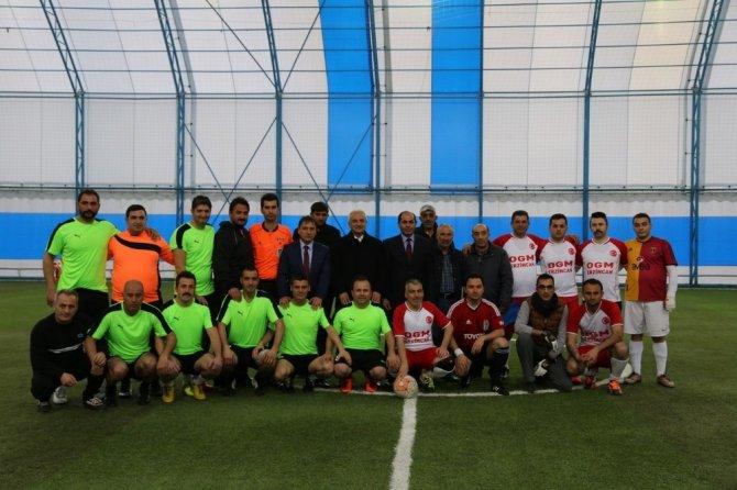 Erzincan'da Kurumlar Arası Futbol Müsabakaları Başladı