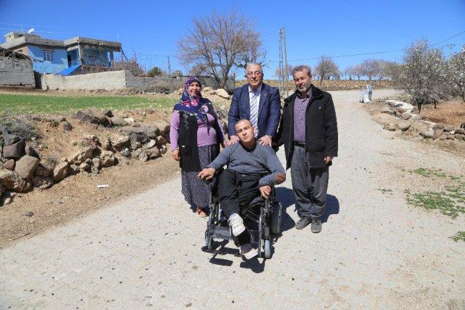 Şehitkamil'de 4 Engelliye Daha Akülü Araç Ve Tekerlekli Sandalye Dağıtıldı