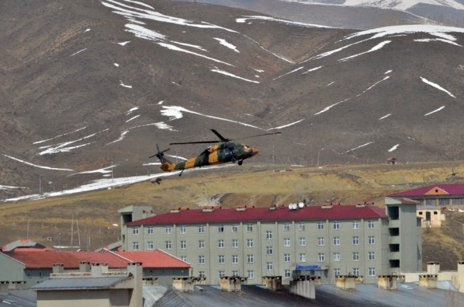 Yüksekova'da Hava Hareketliği