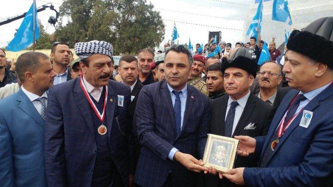 Altun Köprü Şehitler Anıtı Açıldı