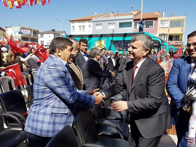 Başkan Akyürek, Yunak'ta İlçe Buluşmalarına Katıldı