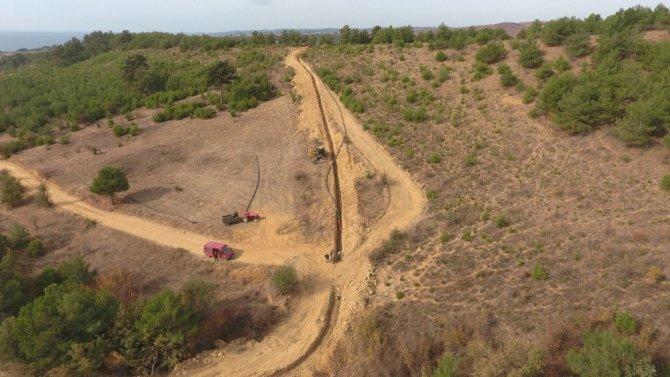 Çokal Barajı İçme Suyu İsale Hattında Sona Doğru
