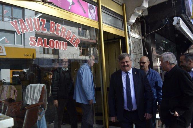 Çaturoğlu, Gaziler Derneği'ni Ziyaret Etti