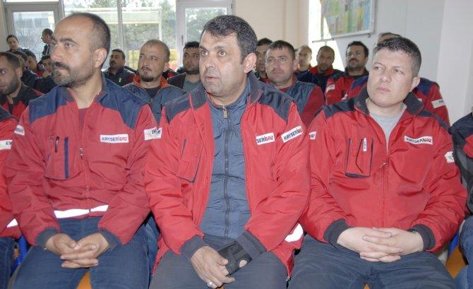 Kayserigaz'da Ortopedik Sorunlar Semineri