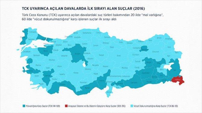 İşte Türkiye'nin 'Suç Atlası'nı Hazırladı
