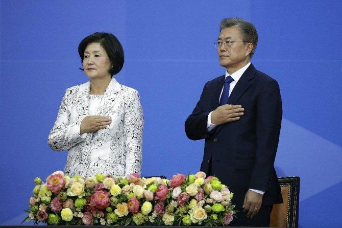 Güney Kore lideri Moon Jae-in yemin etti