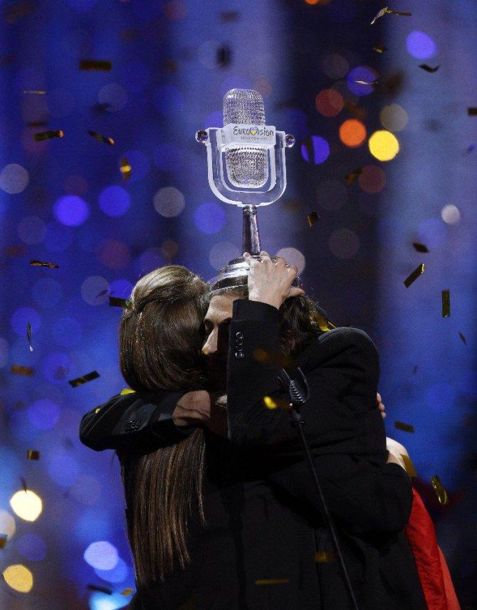 Eurovision'da zafer Portekiz'in