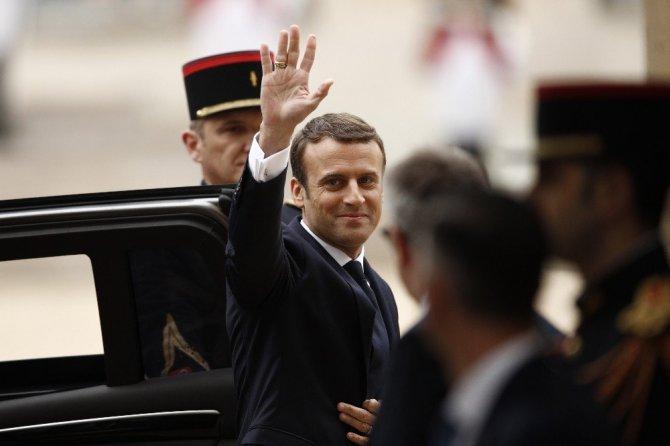 Fransa Cumhurbaşkanı Macron Görevi Devraldı - Görüntüler