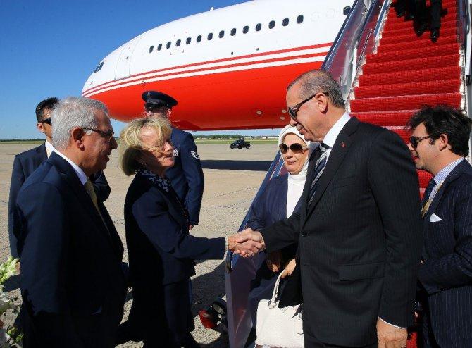 Cumhurbaşkanı Recep Tayyip Erdoğan'dan ABD ziyareti
