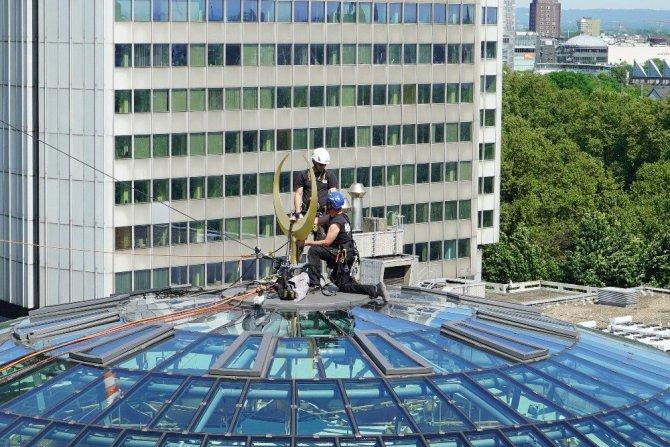 Almanya Köln Ditib Merkez Camii tamamlanıyor