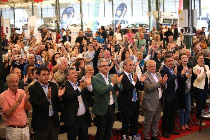 İzmir'in İlçelerinde de 19 Mayıs Coşkusu!