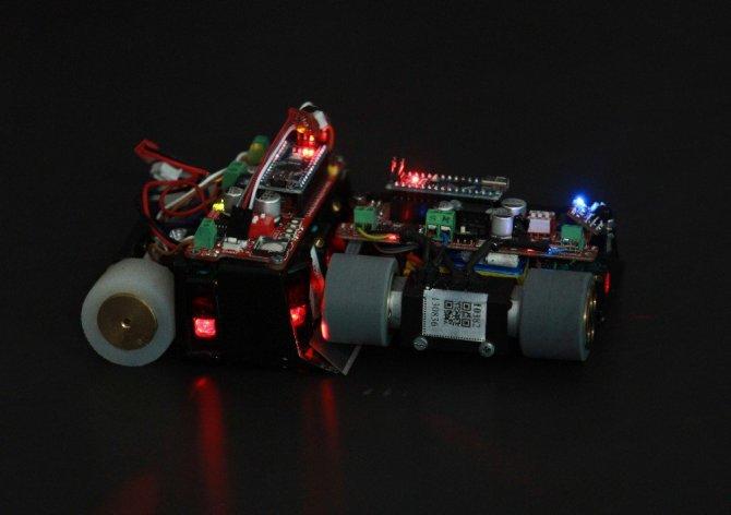 Bursa'da Sumocu Robotlar yarıştı