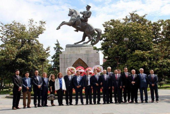 Balkanlar Türklerinden Samsun gezisi