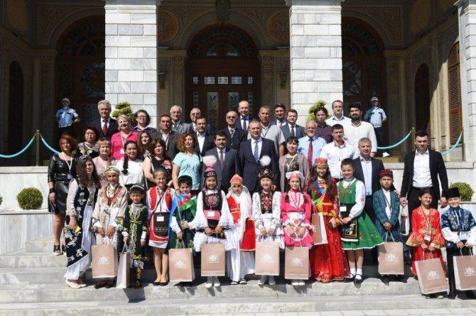 Türk Dünyası Çocukları İstanbul'da buluştular!