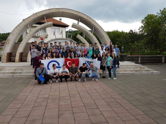 GESTAŞ öncülüğünde Çanakkale'li gençlerin Bosna Hersek gezisi