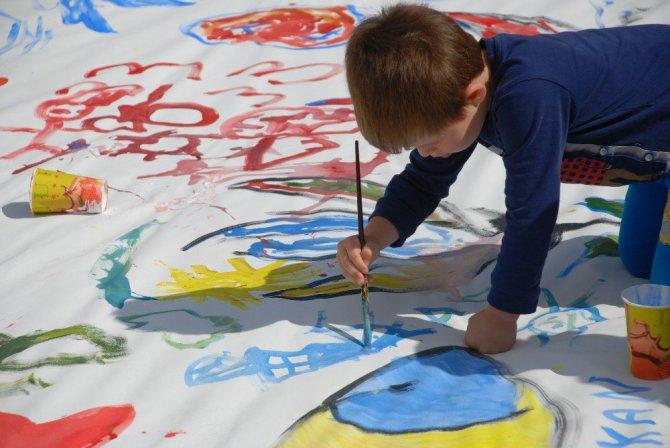 Foça'da Sanatevi büyük ilgi gördü