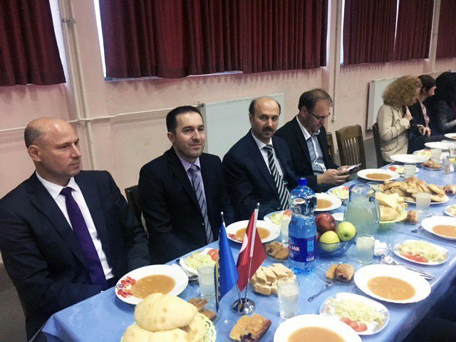 Sincan Belediyesi Kosova Makedonya Ve Bosna Hersek'te iftar sofrası kurdu