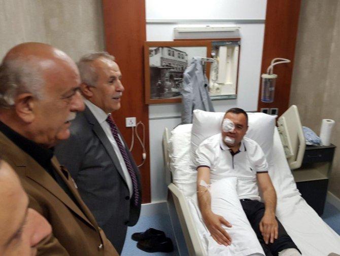 Arsuz Kaymakamı Musa Sarı Trafik Kazası Geçirdi