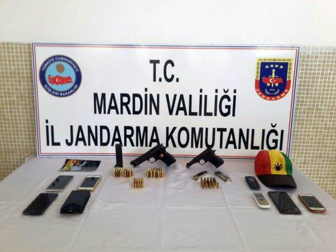 Mardin'de Terör Örgütü PKK Operasyonu: 8 Gözaltı