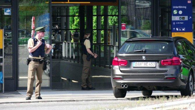 Münihte tren istasyonunda silahlı saldırı: 4 yaralı