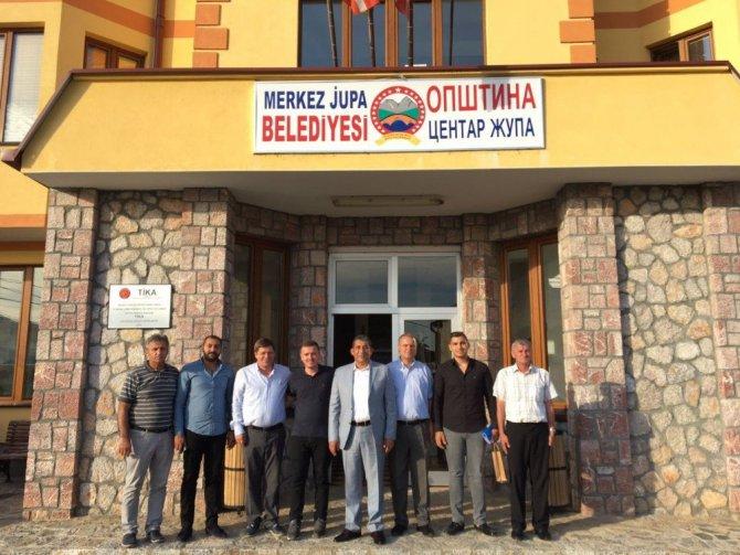 Menderes Atilla Makedonya'daki Türk Belediyesini ziyaret etti