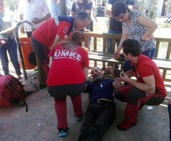 Aydın'da Sınav Stresi Veliyi Hastanelik Etti