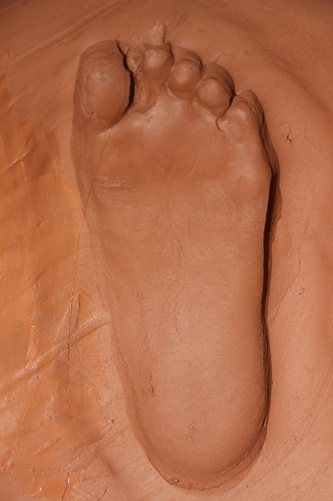 Kapadokya'ya El Ve Ayak İzlerini Bırakıyorlar