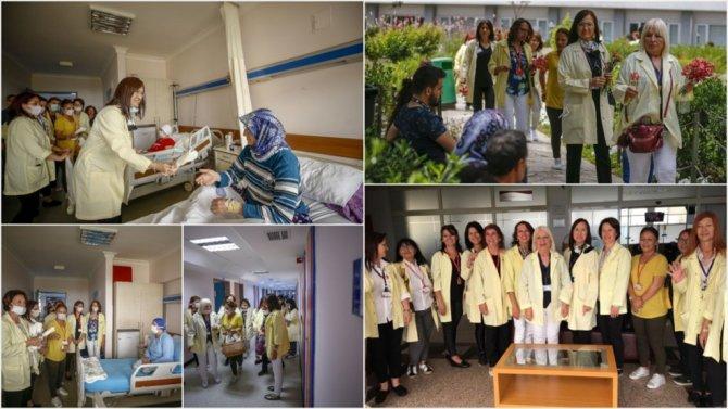 Hasta Ve Yakınlarının Gönüllü Anneleri: 'Sarı Melekler'